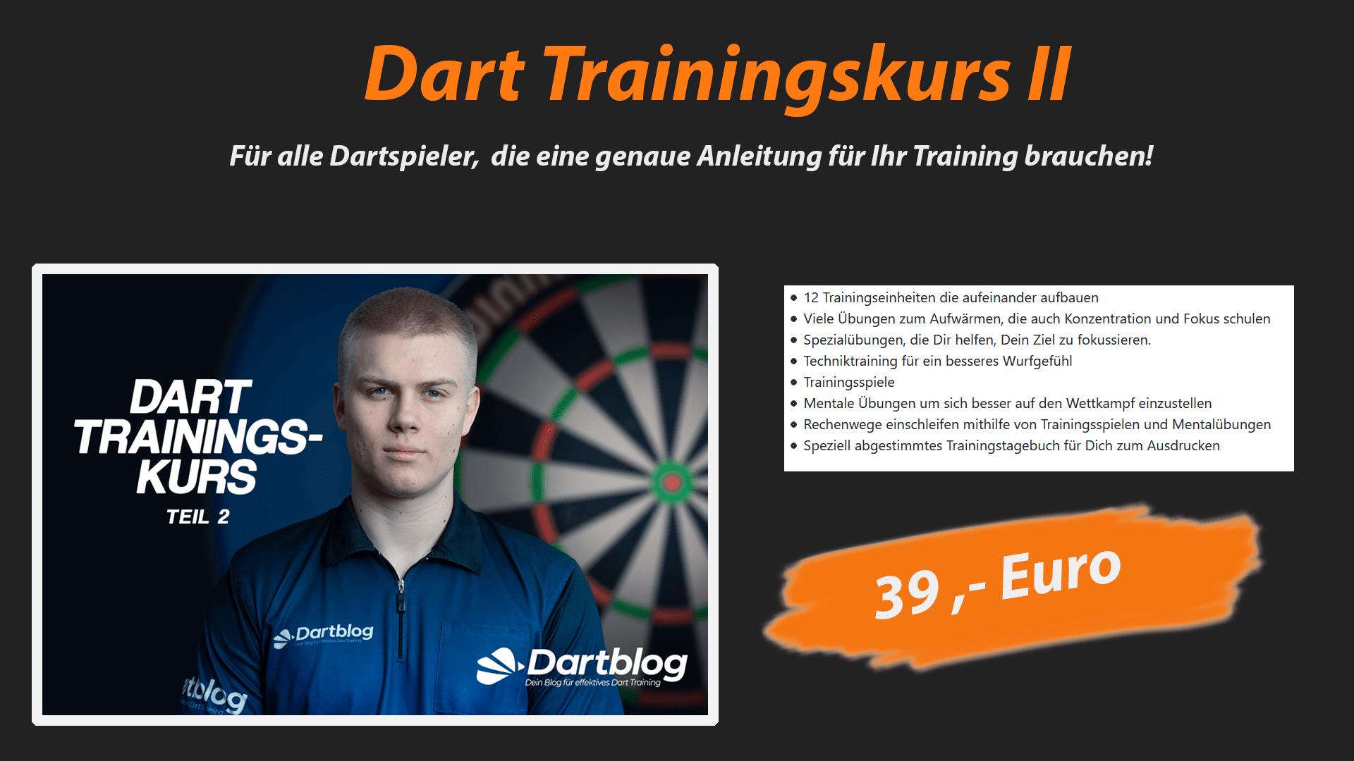 Dart Trainingskurs 2